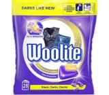 Woolite Black, Darks, Denim gelové kapsle na tmavé prádlo 28 kusů