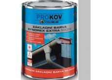 Colorlak Synorex Extra S 2003 syntetická antikorozní barva na železo a kovy Šedá 0,6 l