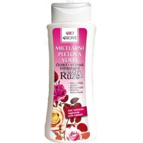 Bione Cosmetics Růže čisticí, výživná, hydratační micerální pleťová voda 255 ml