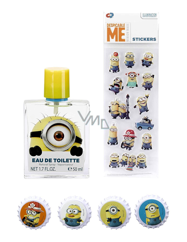 Mimoni toaletní voda pro děti 50 ml + magnetky 4 kusy + samolepky 20 kusů 54e1116096