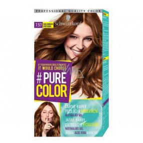 Schwarzkopf Pure Color Washout barva na vlasy 7.57 Sladce karamelová 60 ml