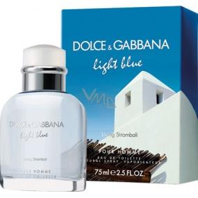 Dolce & Gabbana Light Blue Living Stromboli toaletní voda pro muže 75 ml