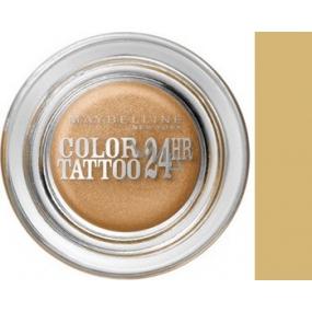 Maybelline Color Tattoo 24h oční stíny 05 Eternal Gold 4 g