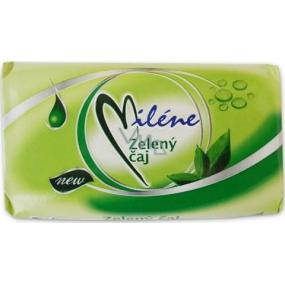 Miléne Zelený čaj toaletní mýdlo 100 g