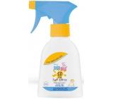 Sebamed Baby Sun SPF50 opalovací spray pro děti velmi vysoká ochrana 200 ml