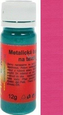Artemiss Barva na textil 51 metalická růžová 12 g