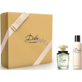 Dolce & Gabbana Dolce parfémovaná voda pro ženy 50 ml + tělové mléko pro ženy 100 ml, dárková sada