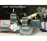 Lima Zimní třpyt Vánoční pohlazení vonná svíčka koule průměr 80 mm 1 kus