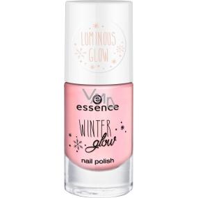 Essence Winter Glow Nail Polish lak na nehty 04 Let It Glow 8 ml