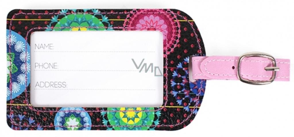 Albi Original Visačka na kufr Arabesky 11,4 x 6,8 x 0,3 cm