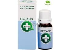 Annabis Orcann přírodní koncentrovaná ústní voda s konopím vhodná i pro vegany 30 ml