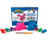 Mad Mattr Kreativní set růžová 140 g + modrá 140 g + vykrajovátka 6 kusů