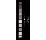 Gabriella Salvete Palette 10 Shades paleta očních stínů se zrcátkem a aplikátorem 03 Grey 12 g