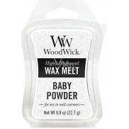 WoodWick Baby Powder - Dětský pudr vonný vosk do aromalampy 22.7 g