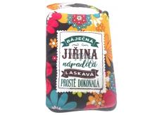 Albi Skládací taška na zip do kabelky se jménem Jiřina 42 x 41 x 11 cm