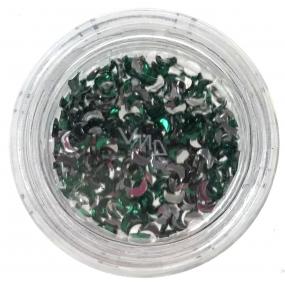 Professional Ozdoby na nehty kamínky měsíc zelené 132