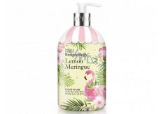 Baylis & Harding Lemon Meringue - Cukrové pusinky tekuté mýdlo na ruce 500 ml