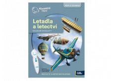 Albi Kouzelné čtení interaktivní kouzelné dvoulisty Letadla a letectví, věk 8+