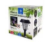Trixline Solar UV Mosquito Solární lampa proti komárům TR 612