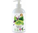 Real Green Clean 3v1 mycí prostředek na nádobí, ruce, ovoce a zeleninu dávkovač 500 ml