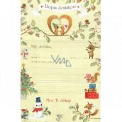 Ditipo Dopis Ježíškovi veverky 195 x 290 mm