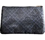 Diva & Nice Kosmetická kabelka saténová s barokním vzorem 16 x 27 cm