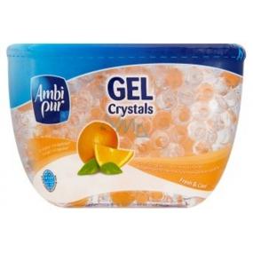 Ambi Pur Crystals Fresh & Cool Citrus gel osvěžovač vzduchu 150 g