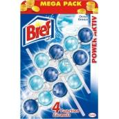 Bref Power Aktiv 4 Formula Ocean Breeze WC blok 3 x 50 g, megapack