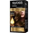 Syoss Oleo Intense Color barva na vlasy bez amoniaku 4-60 Zlatohnědý