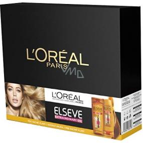 Loreal Paris Elseve Extraordinary Oil vyživující šampon na vlasy 250 ml + vyživující balzám na vlasy 200 ml, kosmetická sada