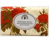 English Soap Rozkvetlá Růže Přírodní parfémované mýdlo s bambuckým máslem 200 g