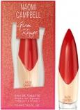 Naomi Campbell Glam Rouge toaletní voda pro ženy 15 ml