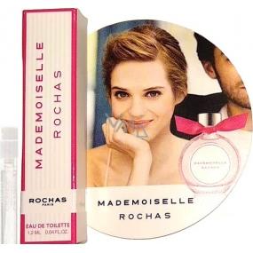 Rochas Mademoiselle Rochas Eau de Toilette toaletní voda pro ženy 1,2 ml s rozprašovačem, vialka