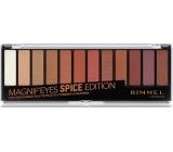 Rimmel London Magnifeyes Paleta očních stínů 005 Spice Edition 14,16 g