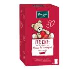 Kneipp Miluji tě sůl 60 g + Hodně štěstí sůl 60 g + Všechno bude v pořádku sůl 60 g + Krásný spánek sůl 60 g, kosmetická sada pro děti