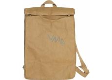 Albi Eko batoh vyrobený z pratelného papíru Bez potisku 43 x 29 x 11 cm