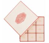 Castelbel Růže mini toaletní mýdlo 9 x 25 g, kosmetická sada