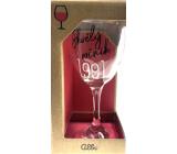Albi Můj Bar Sklenka na víno 1991 220 ml