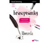 Ditipo Krasopísanky 3 Moderní krasopis Hand lettering abeceda k procvičování 32 stran 7234001