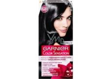 Garnier Color Sensation barva na vlasy 1.0 Ultra černá