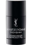 Yves Saint Laurent La Nuit de l Homme deodorant stick pro muže 75 g