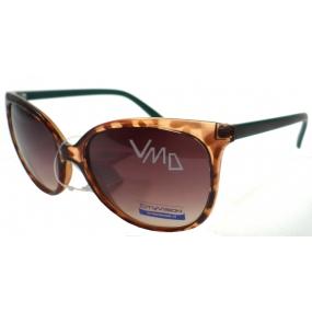 Nae New Age 023886 hnědozelené sluneční brýle