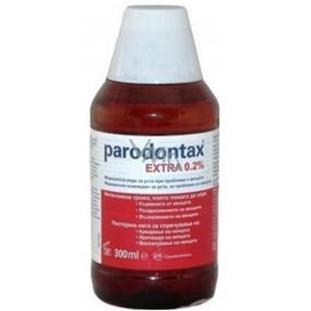 Parodontax Extra 0.2% ústní voda pro intenzivní péči při krvácení dásní a parodontóze 300 ml