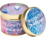 Bomb Cosmetics Hříšný tanec - Passion Fruit Fandango Candle Vonná přírodní, ručně vyrobena svíčka v plechové dóze hoří až 35 hodin