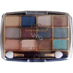 Body Collection Classic Eyeshadow Kosmetická kazeta oční stíny Set 2 12 x 1 g