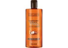 Evoluderm Argan Divin vyživující šampon pro velmi suché a poškozené vlasy s arganovým olejem 400 ml