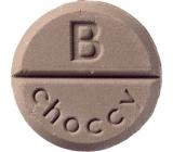 Bomb Cosmetics Choccy aromaterapie tableta do sprchy 1 kus