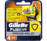 Gillette Fusion Proshield náhradní hlavice 4 kusy