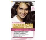 Loreal Paris Excellence Creme barva na vlasy 200 Černohnědá