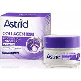 Astrid Collagen Pro proti vráskám + plnost pleti denní krém 50 ml